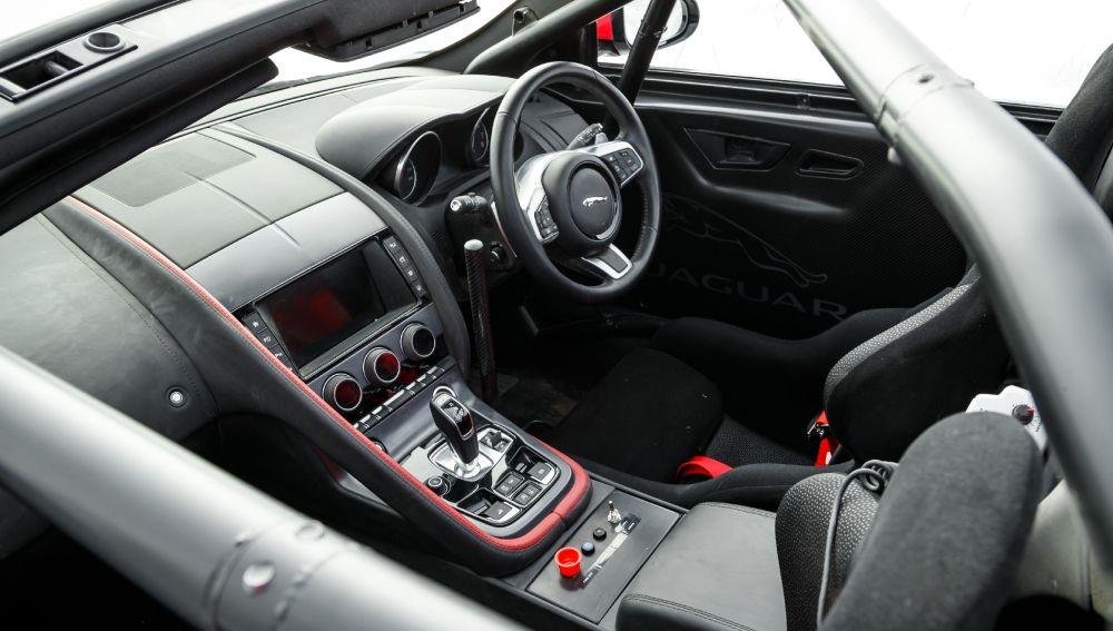 Interior del F-Type convertible