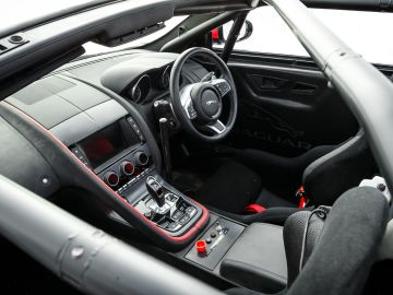 Interior del F-Type convertible