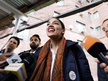 La congresista Alexandria Ocasio-Cortez