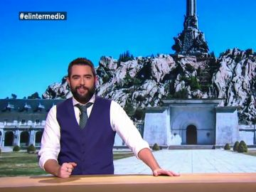"""La propuesta de Dani Mateo a los """"monjes benedictinos"""": """"Hay que buscar rentabilidad. Si sacan los restos de Franco, alquiláis la tumba"""""""
