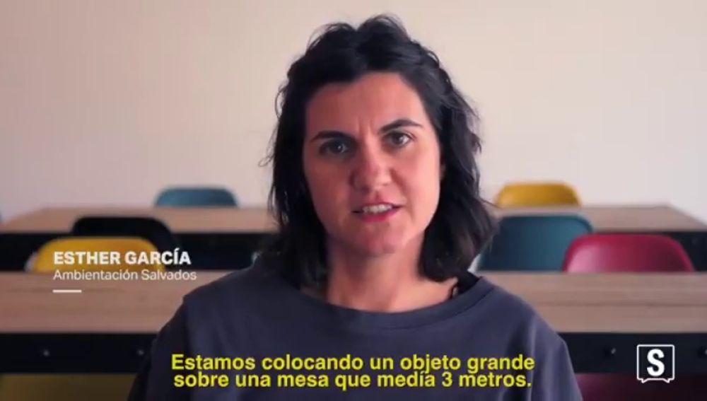 """Esther García, ambientación en Salvados: """"Mi trabajo consiste en hacer cosas que no se ven"""""""