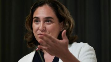 La alcaldesa de Barcelona, Ada Colau (Archivo)