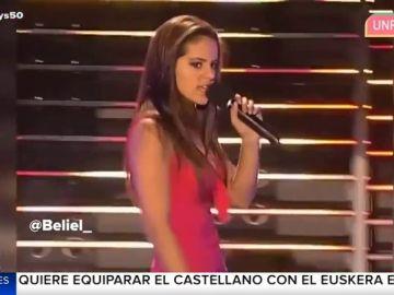 El día que Rosalía pisó un talent show con sólo 15 años