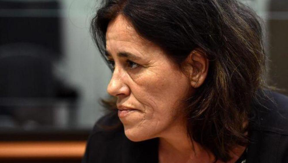 Rosa Maria Da Cruz, la madre de la recién nacida, durante el juicio