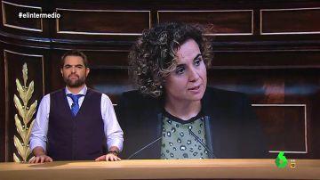 """Dani Mateo alucina con la comparación entre independentismo y violencia de género de Montserrat: """"¿Cómo puede hablar así siendo exministra de Igualdad?"""""""
