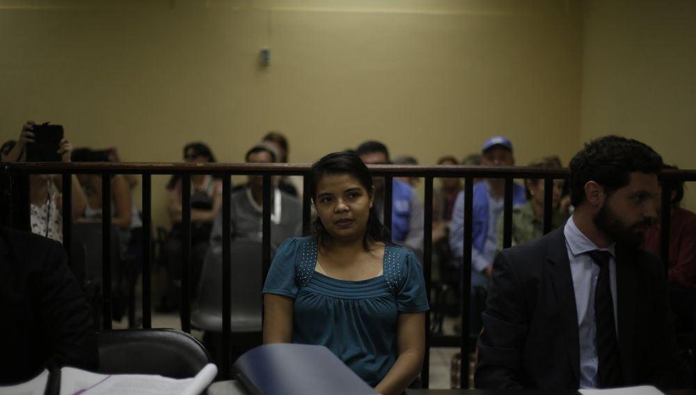 La joven salvadoreña Imelda Cortez, acusada de intentar abortar a una niña