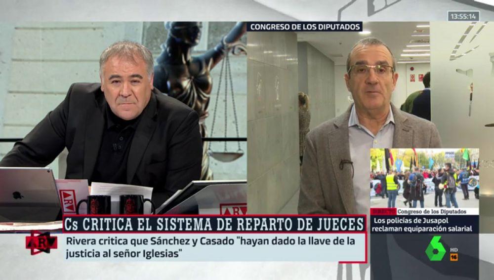 Yllanes responde a los ataques de Rivera por el CGPJ: \
