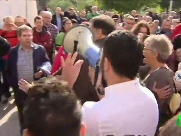Tensión en una concentración en Santa Coloma