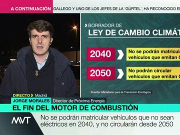 Creación de puestos de trabajo, autosuficiencia energética, menor contaminación: Jorge Morales analiza las ventajas del coche eléctrico