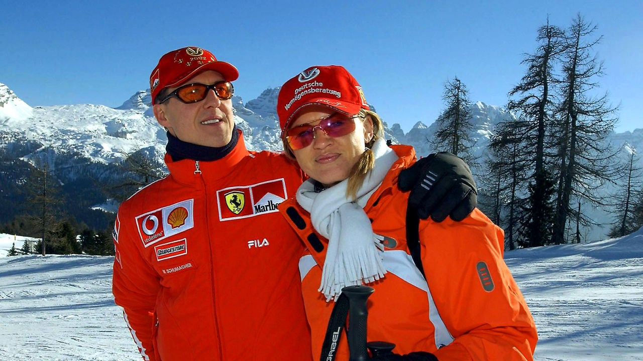 Michael Schumacher, junto a su mujer Corinna