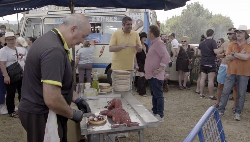 Alberto Chicote se cita con Antonio, un técnico en seguridad alimentaria