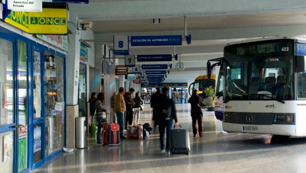 Imagen de la estación de autobuses de Murcia