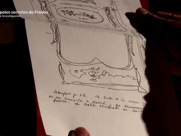 Los dibujos y manuscritos de Franco: el archivo del dictador oculto en la sierra de Málaga