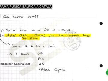 """Una nota de López Madrid apunta a Rafael Catalá: pidió """"hacer un hueco"""" a una constructora en las obras del AVE en Galicia"""