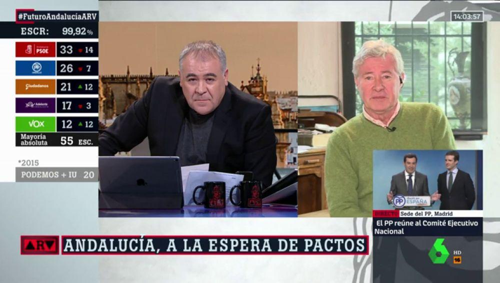 Jorge Verstrynge, politólogo y profesor de política de la UCM
