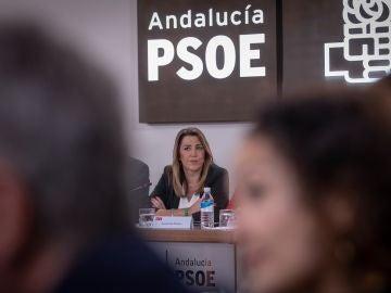 La presidenta andaluza y secretaria general del PSOE-A, Susana Díaz