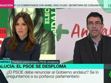 """Mario Jiménez: """"No sería razonable que la dirección del partido no estuviera respaldando al PSOE de Andalucía"""""""