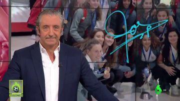 """Josep Pedrerol: """"El fútbol femenino será cada vez más importante gracias a campeonas como las de la Selección"""""""