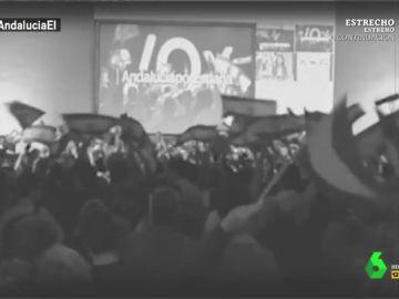 """El nodo de El Intermedio narra el ascenso de Vox: """"La capital hispalense fue testigo de los triunfos del partido cristiano y decente"""""""