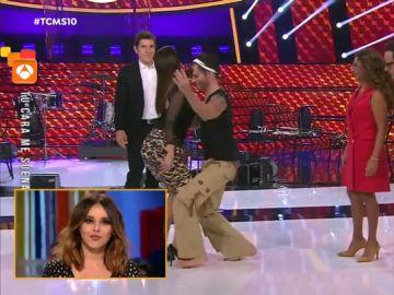 Chenoa ve su baile con Carlos Baute