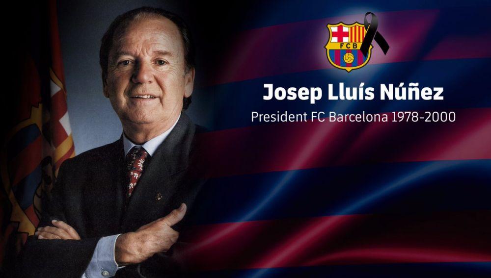 Muere Josep Lluís Núñez