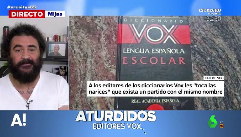 El Sevilla se solidariza con el diccionario VOX por existir un partido político con su mismo nombre