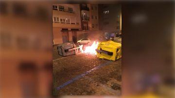 Incidentes en una manifestación contra Vox en Cádiz