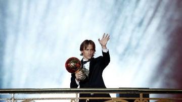 Luka Modric, ganador del Balón de Oro 2018