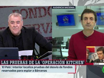López Fonseca da las claves sobre las pruebas que certifican el desvío de fondos reservados para espiar a Bárcenas