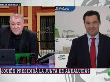 """Juanma Moreno ataca a Ciudadanos por su postura en Andalucía: """"Marín dijo que pactaría con el PP"""