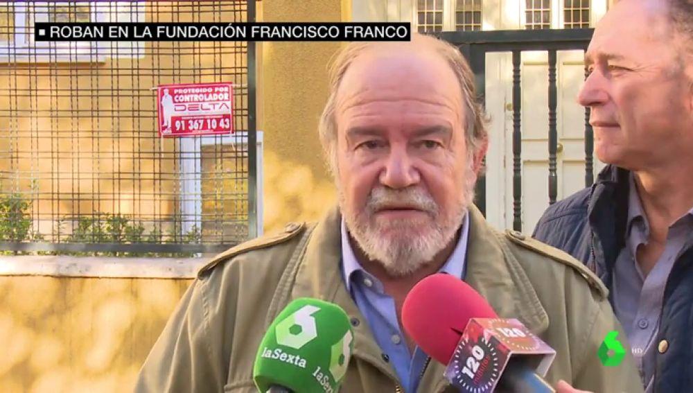 El presidente de la Fundación Francisco Franco