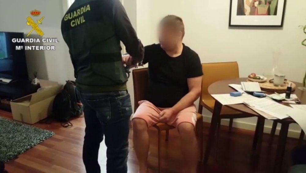 """Así ha detenido la Guardia Civil a uno de los líderes del """"clan de los balcanes"""""""