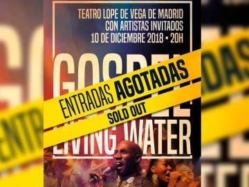 La Gran Vía de Madrid se convierte en una iglesia Góspel