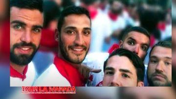 Imagen expuesta en la web del 'tour de La Manada'