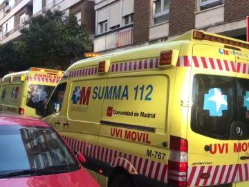 Muere un trabajador tras caer desde la azotea de un edificio en rehabilitación en Madrid