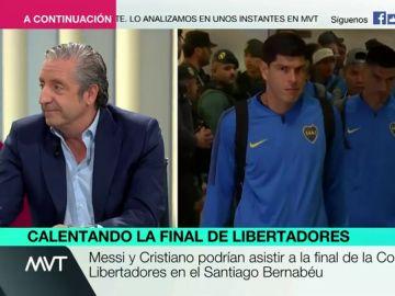 """Josep Pedrerol, sobre la Copa Libertadores: """"Cualquier argentino siente vergüenza, sienten que les han humillado"""""""