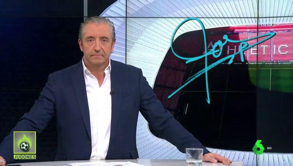 """Josep Pedrerol: """"Jugadores, no lo olvidéis. Sois unos privilegiados. Jugáis en el Athletic, y el Athletic sí es más que un club"""""""