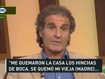 """Ruggeri: """"Cuando dejé Boca para fichar por River, quemaron mi casa con mis padres dentro"""""""