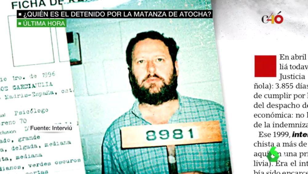 ¿Quién es García Juliá? Así es el detenido por la matanza de Atocha que fue condenado a 193 años de cárcel