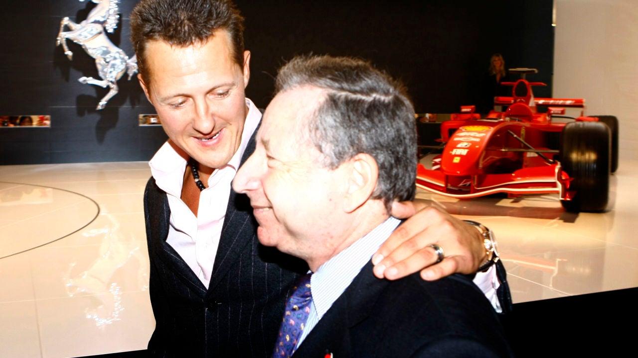 Jean Todt, junto a Michael Schumacher en 2007