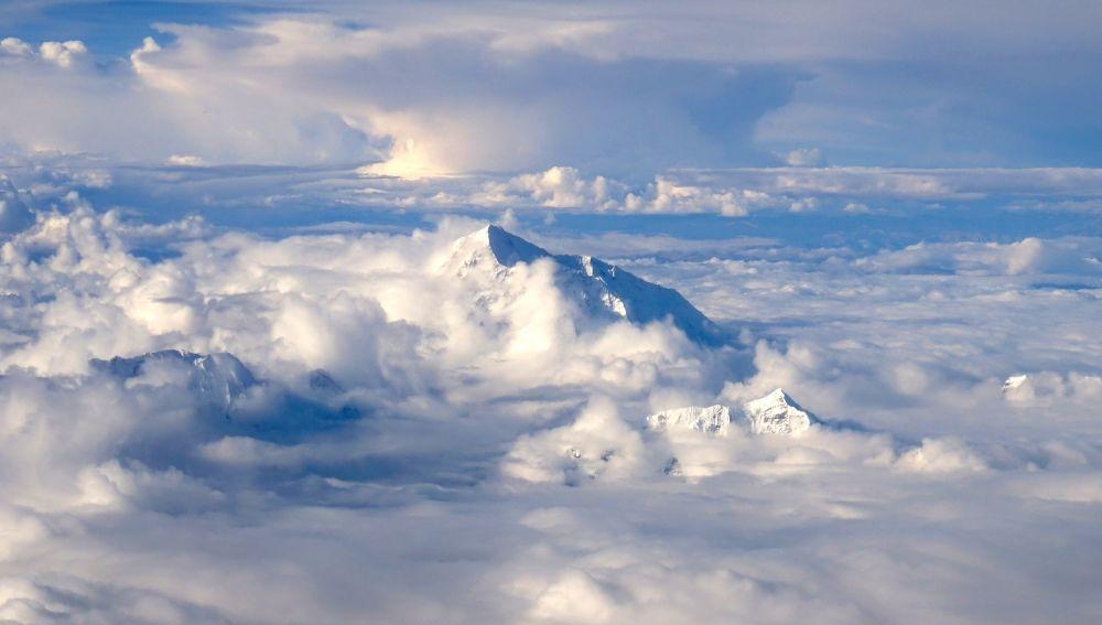 Nubes en el Tibet