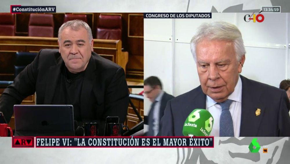 Felipe González en ARV