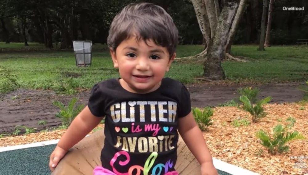 Zainab, la niña que necesita sangre para superar la quimioterapia