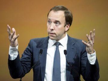 Matt Hancock, ministro de Salud de Reino Unido