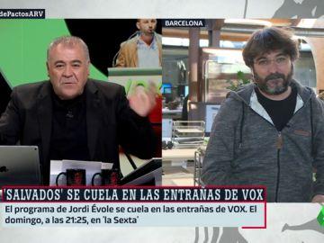 """¿Qué seduce al votante de Vox? Évole responde: """"En un mitin, se entonó el 'Novio de la muerte' y a continuación sonó Rosalía. Ahí está la metáfora"""""""