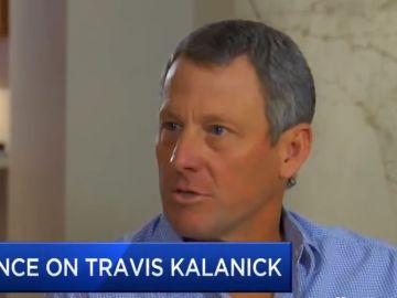Lance Armstrong, en una entrevista