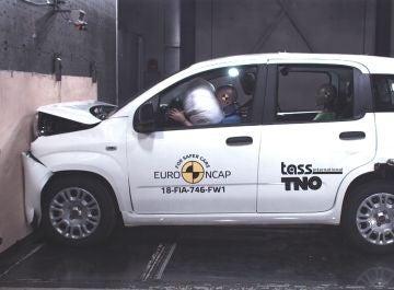 Fiat Panda Euroncap 2018
