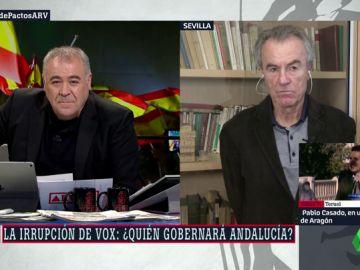 """El análisis de Javier Pérez Royo sobre Andalucía: """"O es Juanma Moreno, o hay repetición de elecciones"""""""