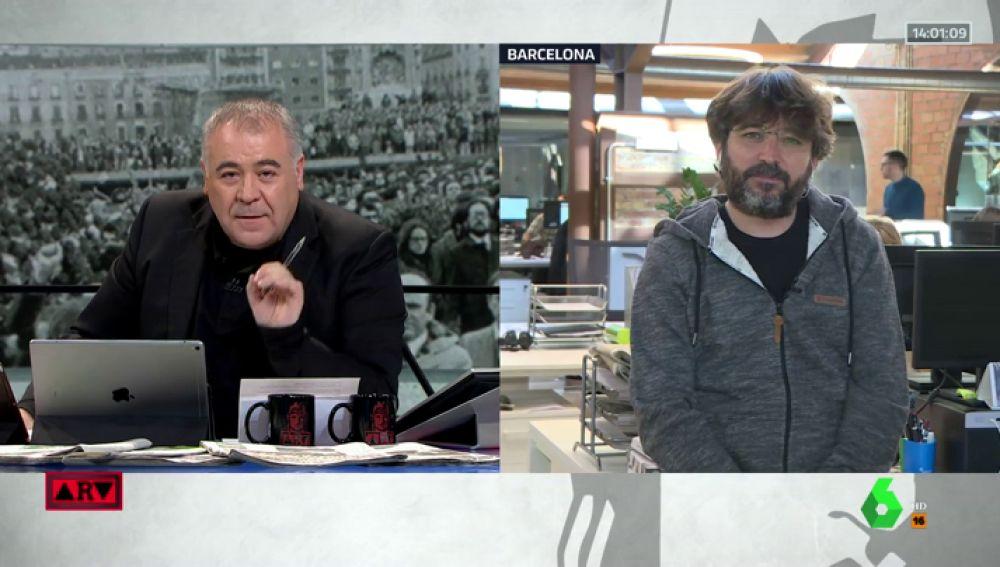 """Jordi Évole explica cómo se 'coló' Salvados en un acto de Vox: """"No es la mejor solución, pero no nos han dejado otro remedio"""""""
