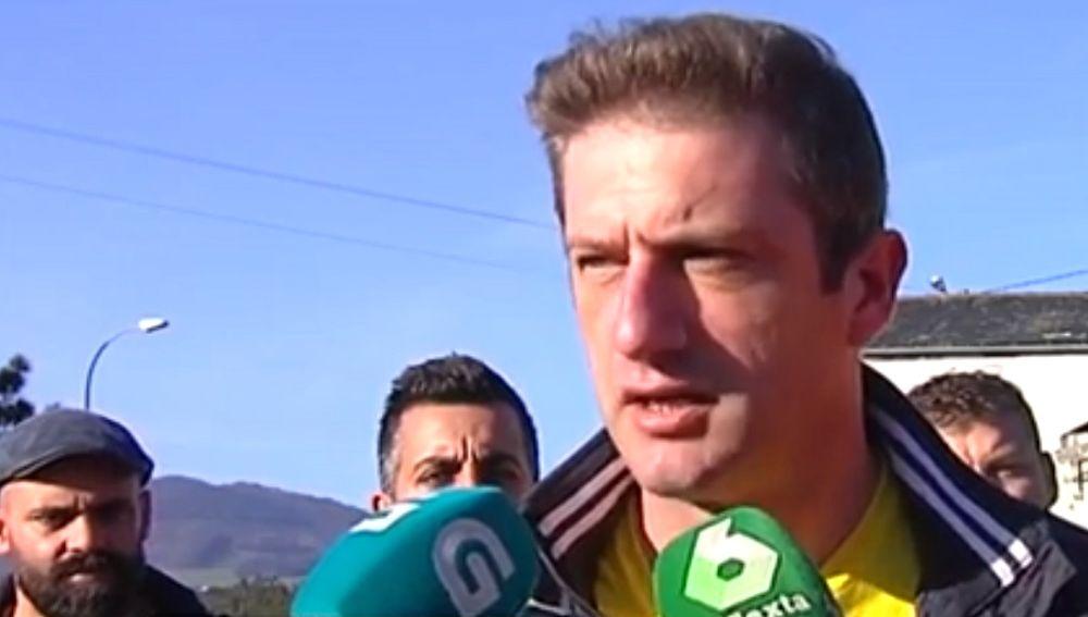 José Carlos López Corbacho, presidente del comité de empresade Alcoa-A Coruña